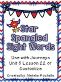 Kindergarten Journeys Unit 5 Lesson 22**Patriotic**