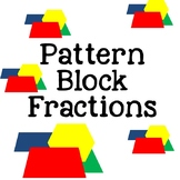 Pattern Block Fractions No Prep