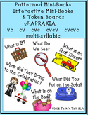 Patterned & Interactive Mini-Books & Token Boards for APRAXIA