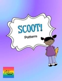 Patterns (Arithmetic, Multiplicative, Growing) Scoot/Task Cards