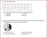Patterns Assessment Test