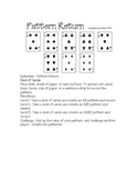 Patterns:  Building Math Fluency