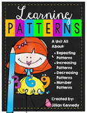 Patterns Unit: Increasing, Decreasing and Repeating Patterns