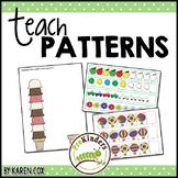 Teach Patterns   Math   Non-Themed Printables Packet