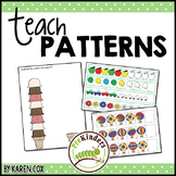 Teach Patterns | Math | Non-Themed Printables Packet