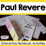 Paul Revere  Interactive Notebook Activities (History Peop
