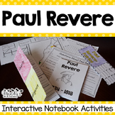 Paul Revere  Interactive Notebook Activities (History Peop