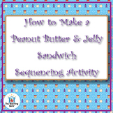 Peanut Butter & Jelly Sandwich Sequencing Activity