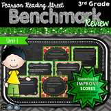 Pearson Reading Street, 3rd Grade, Unit 1 Benchmark Review