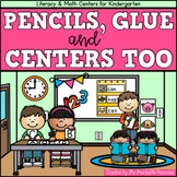Back to School Centers for Kindergarten {Literacy and Math}