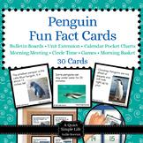 Penguin Fact Cards - Fun Unit Extension Activity, Bulletin