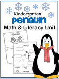 Penguin Math And Literacy Unit for Winter