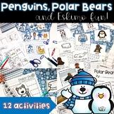 Penguins, Polar Animals and Eskimo Fun!  Math and Literacy