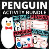 Penguins!  The Bundle of Penguin Activities for Preschool