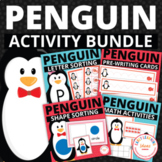 Penguins!  The Bundle of Penguin Activities for Preschool