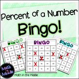 Percent of a Number Bingo