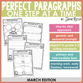 Perfect Paragraphs One Step at a Time: March Edition