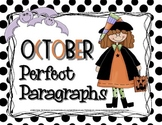 Perfect Paragraphs for October