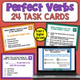 Perfect Verb Tenses: Task Cards