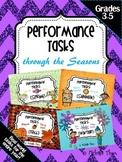 Performance Tasks Bundled {Through the Seasons}