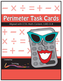 Perimeter Task Cards – Differentiated Math Problems – Comm