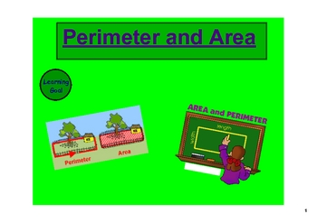 Perimeter and Area on the SMARTboard