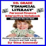Financial Literacy Interactive Notebook,  Projects, Task C