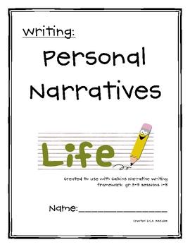 Personal Narrative Unit (Calkins 3-5)