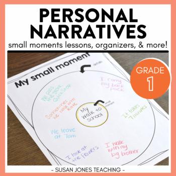 Personal Narrative Writing Unit {Small Moments}