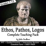 Persuasive Rhetorical Appeals (Ethos, Pathos, Logos) Compl