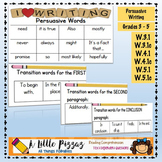 Persuasive Words & Transitions
