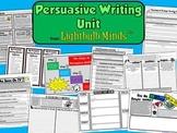 Persuasive Writing Unit from Lightbulb Minds