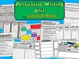 Persuasive Writing Unit from Lightbulb Minds