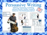 Persuasive Writing with Interactive Writing Activities