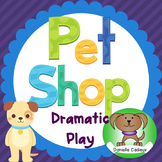Pet Shop Dramatic Play Center and Activities Kindergarten