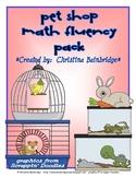 Pet Shop Math 2nd Grade Common Core Center Set