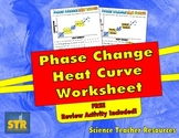 Phase Change Heat Curve Worksheet - Free Review Included!