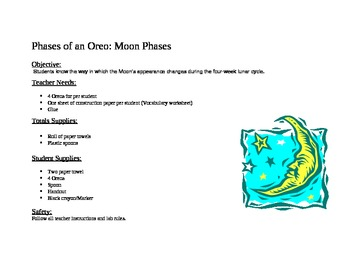 Phases of the Oreo - Moon Phases