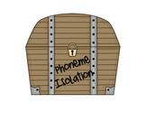 Phoneme Isolation Pirate Theme