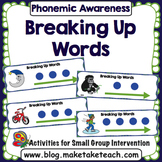 Phoneme Segmentation- Breaking Up Words