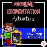 Phoneme Segmentation RTI Printables Bundle