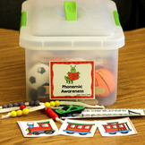 Phonemic Awareness Intervention Kit for Teachers