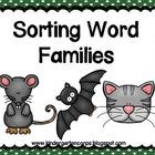 Phonemic Awareness: Kindergarten: Segmenting: Word Families