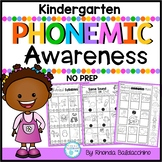 Phonemic Awareness (NO PREP Printables)