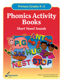 Phonics Activity Books - Short Vowels (Grades K-2) by Teac