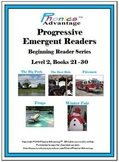 Progressive Emergent Readers Beg. Reader Series Level 2 Bk