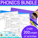 Phonics Bundle - posters and worksheets