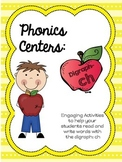 Phonics Centers: Digraph CH