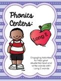 Long E Word Work - Phonics Centers Long E