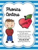 Long O Word Work:  Phonics Centers